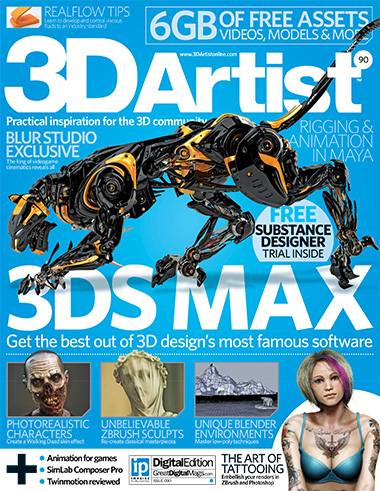 3D Artist Magazine Issue 90 2016