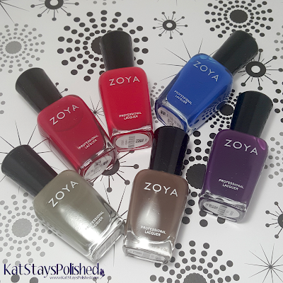 Zoya Focus Collection | Kat Stays Polished
