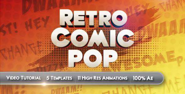 VideoHive Retro Comic Pop