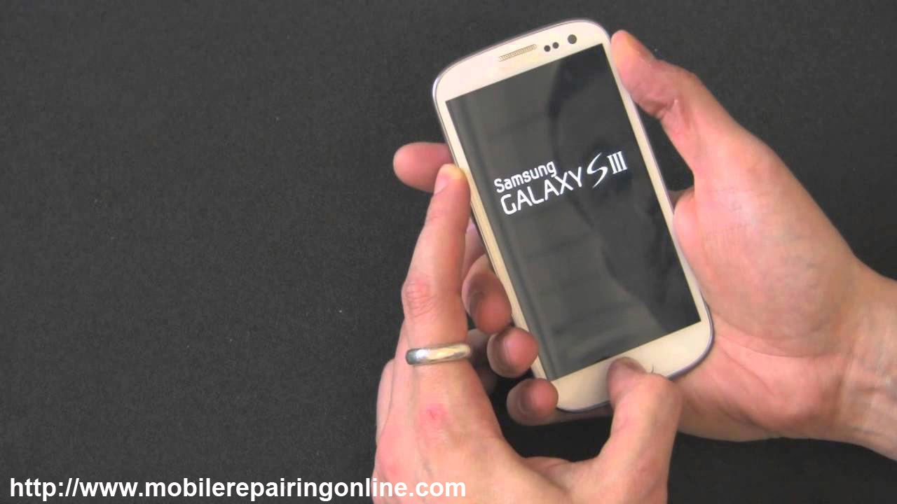 hard reset Basic steps of Samsung galaxy s3