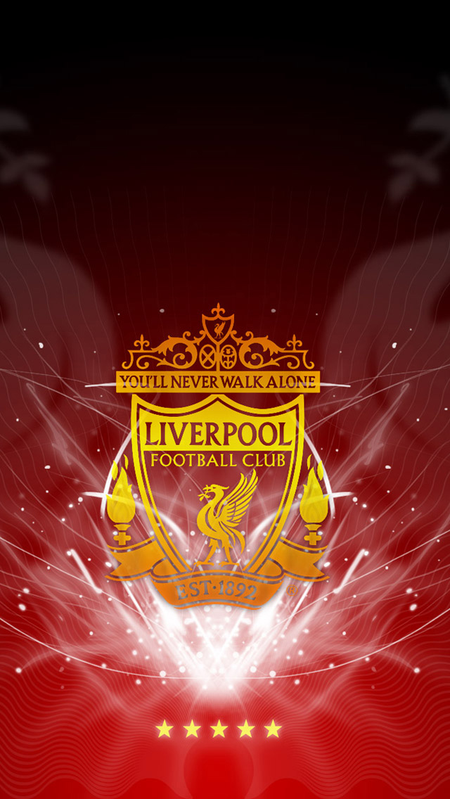 Liverpool FC Logo iPhone 5 Wallpaper   iPhone 5 Wallpapers ...