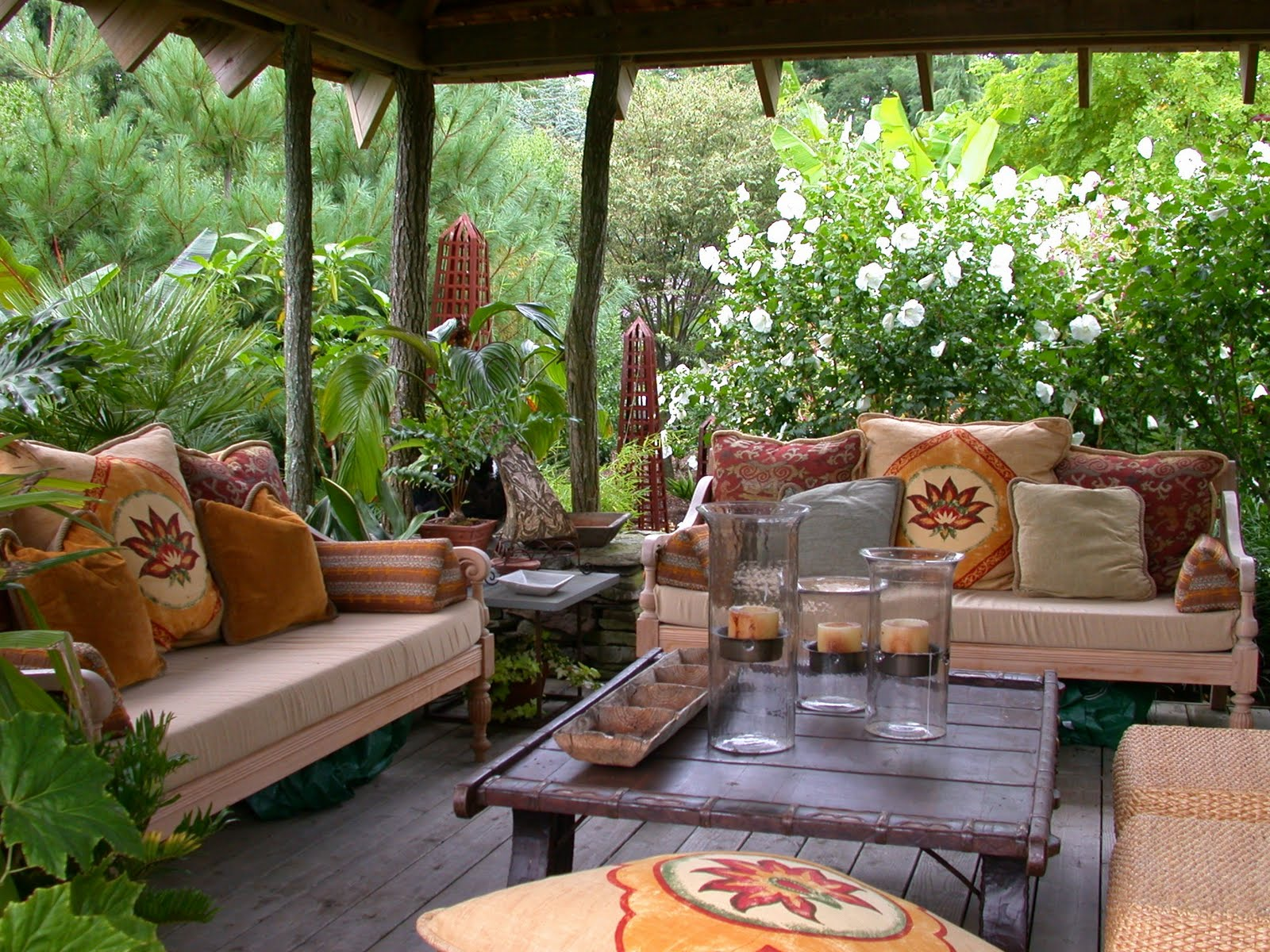 Outside Room Amazing Of Patio Decorating Ideas On a Budget Photo