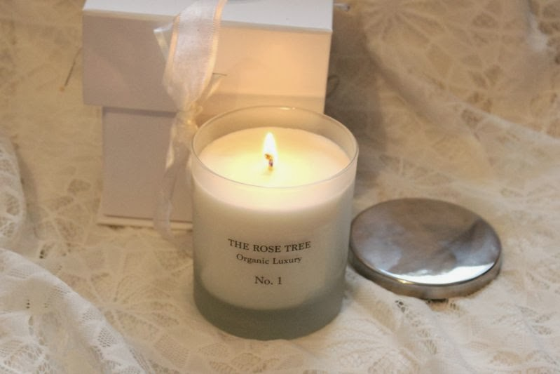 The Rose Tree Organic Luxury Candle