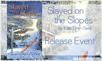 Slayed on the Slopes by Kate Dyer-Seeley – Release Day Event + Giveaway