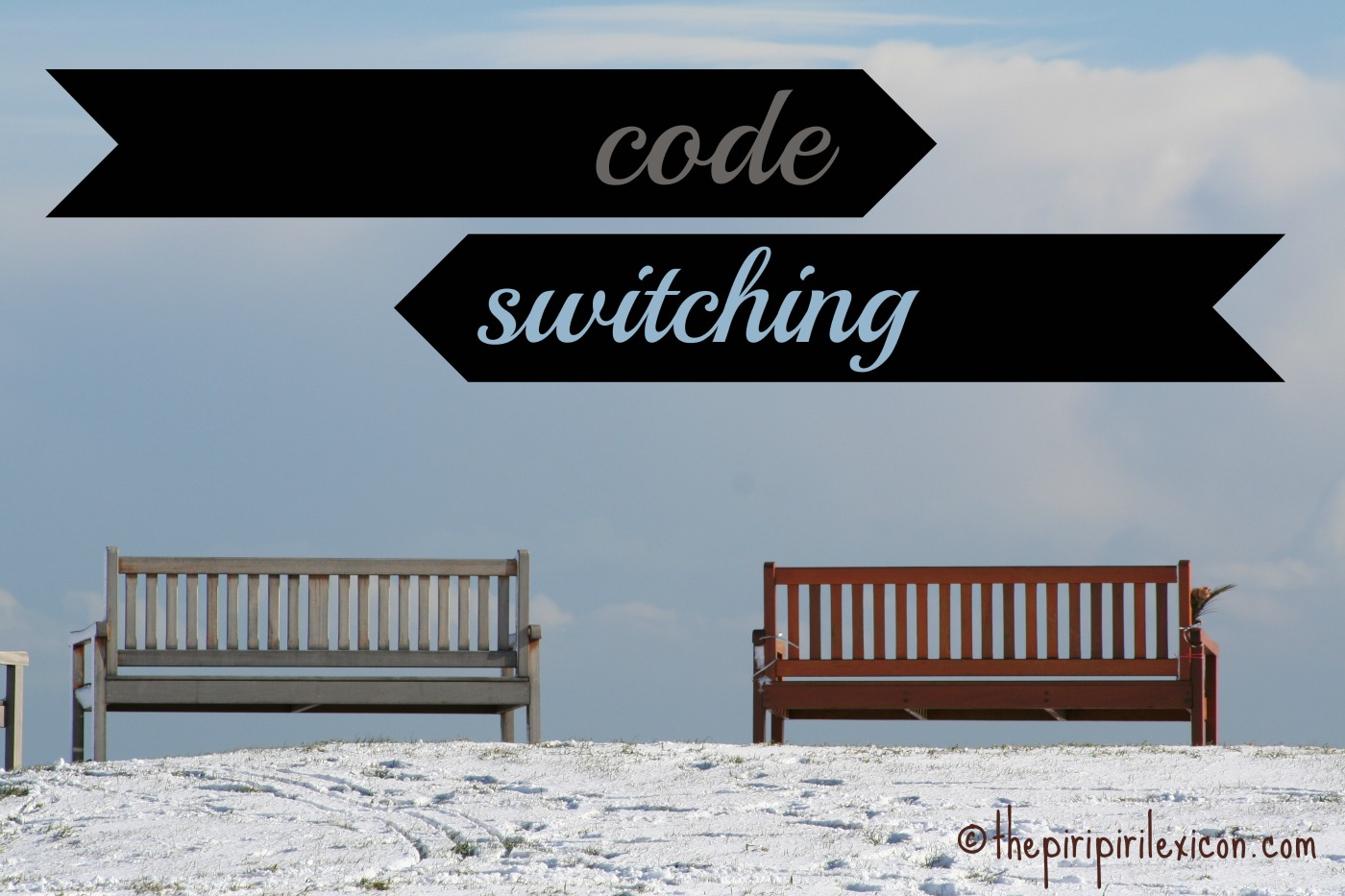 code switching in society as the Iii analysis of code-switching and code-mixing among bilingual children: two case studies of serbian-english language interaction the following faculty members have examined the final copy.