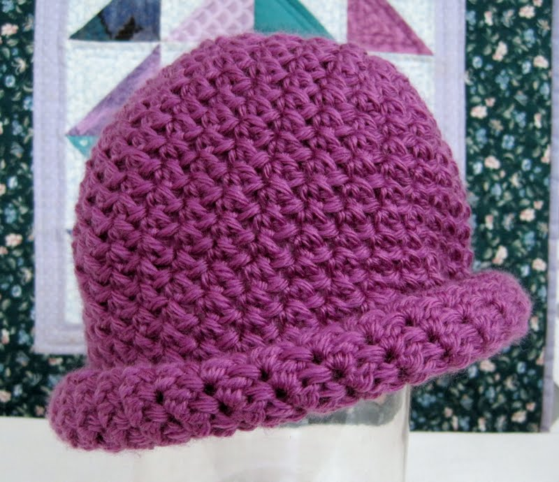 Crochet Hat Patterns Tutorials : Mr. Micawbers Recipe for Happiness: Two Roads Hat Free ...