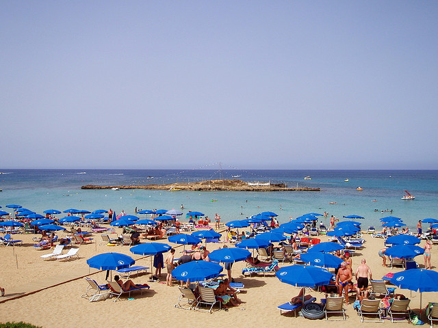 Cyprus beach holiday Fig Tree Bay