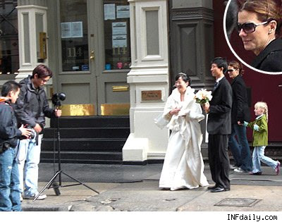 Sandra Bullock Wedding Pictures Hollywood Dresses Pics Photos Marriage