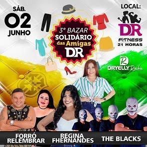 3º BAZAR SOLIDÁRIO DA DR