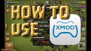 Cara Menggunakan Aplikasi Xmodgames di COC