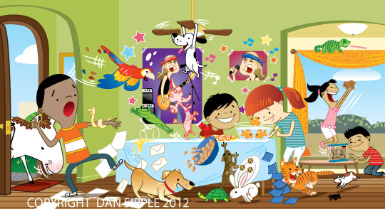 Cartoon Animals Having a Party 540 x 294 · 65 kB · jpeg