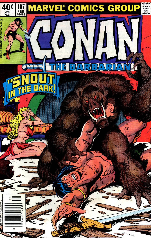 Conan the Barbarian (1970) Issue #107 #119 - English 1