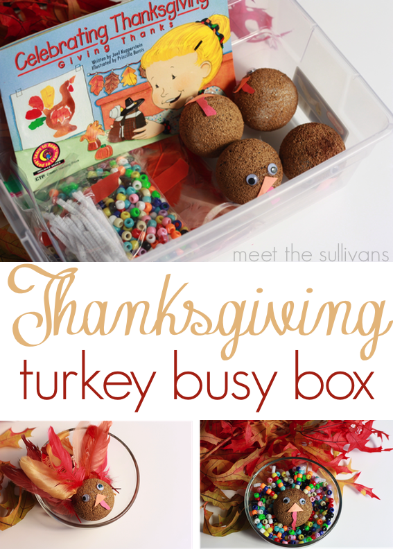 Thanksgiving Turkey Busy Box