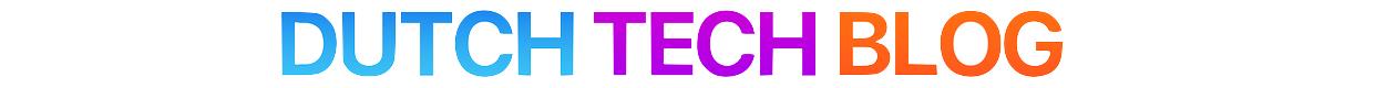 Dutch Tech Blog