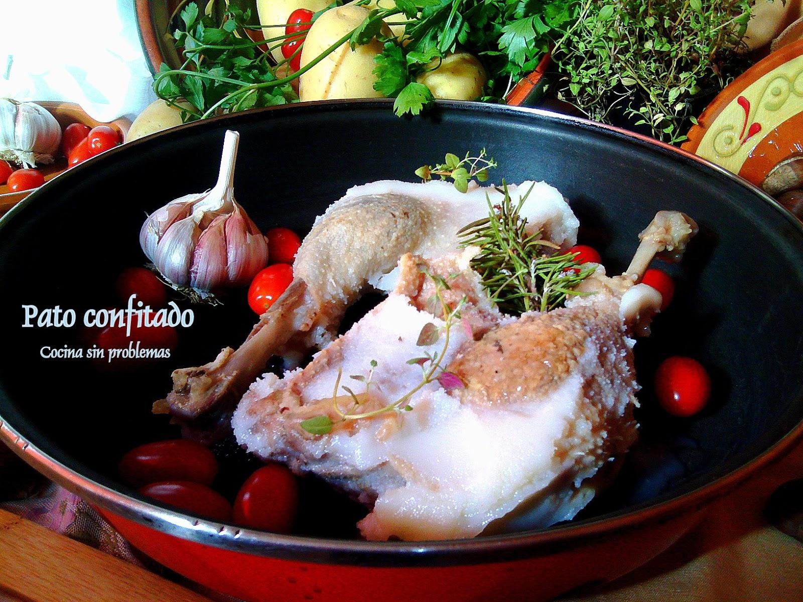 Como Cocinar Un Pato | Cocina Sin Problemas Pato Confitado En Su Propia Grasa Como Se Hace