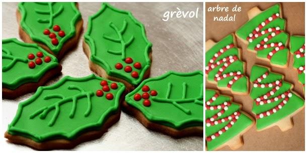galeta de nadal, galleta de navidad, galeta decorada de nadal, galleta decorada de navidad, galeta grèvol, galeta boix, galeta planta de nadal, galleta muerdago, galleta acebo, galleta planta de navidad, galeta arbre de nadal, galleta arbol de navidad
