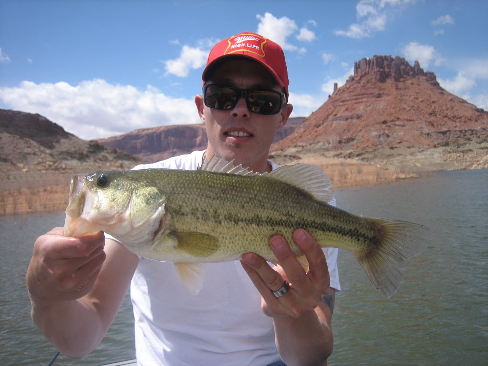 Dunc 39 s fishing adventures spring lake powell trip 2012 for Lake powell fishing license