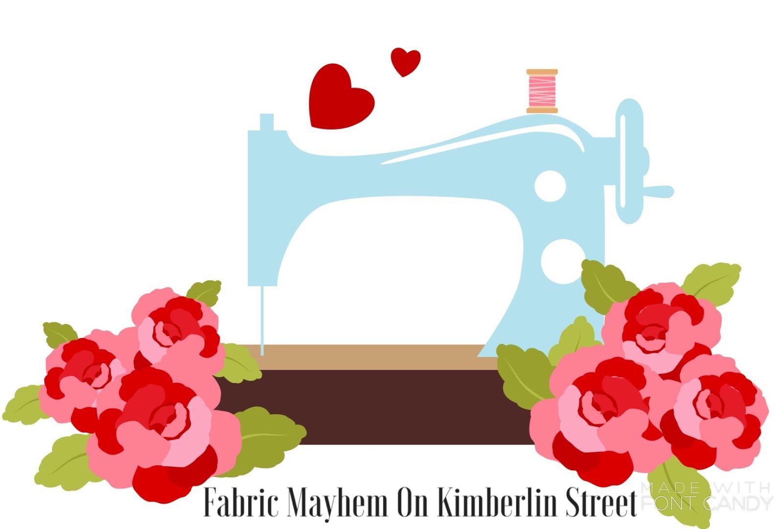 Fabric Mayhem on Kimberlin Street