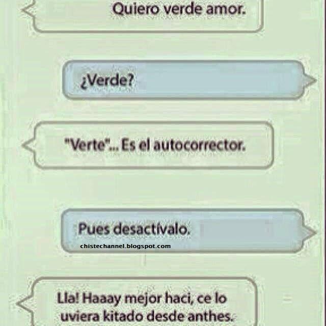 """The """"Chiste"""" Channel: El auto corrector y Yo!"""