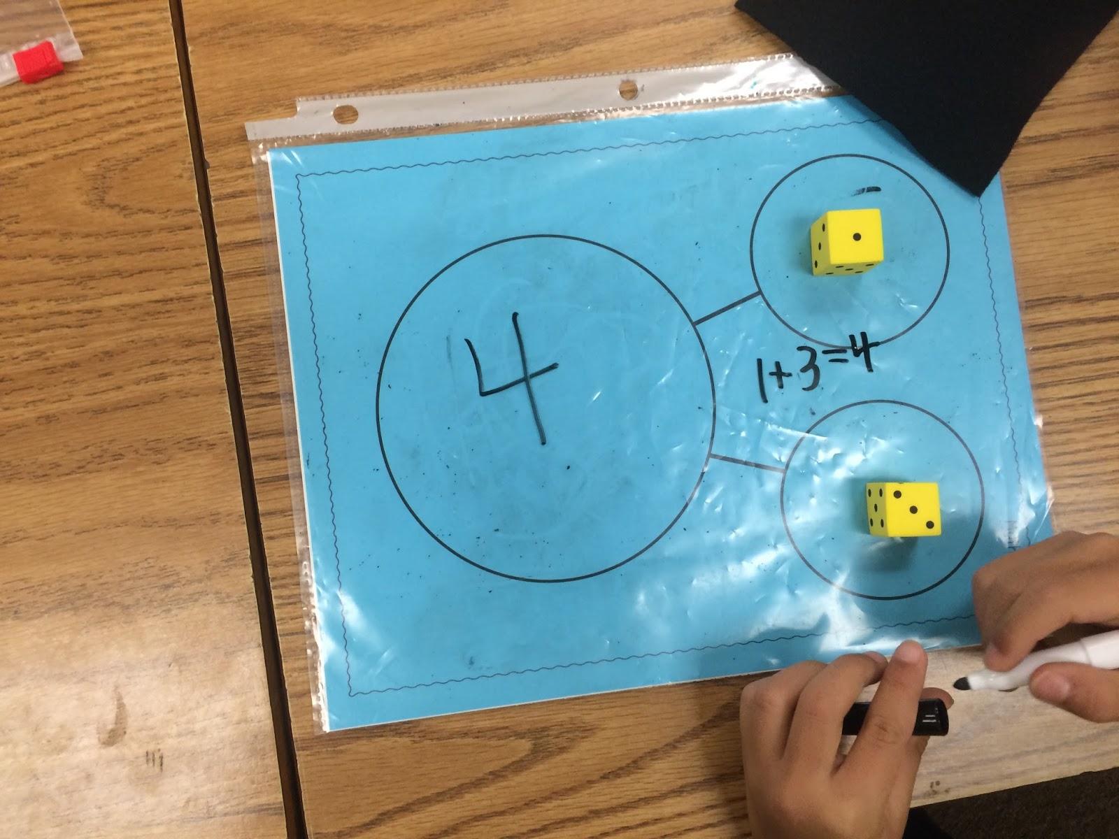 Kroger\'s Kindergarten: Number bonds