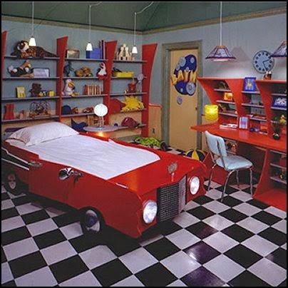 Nội thất với phong cách thể thao cho phòng ngủ của bé 9