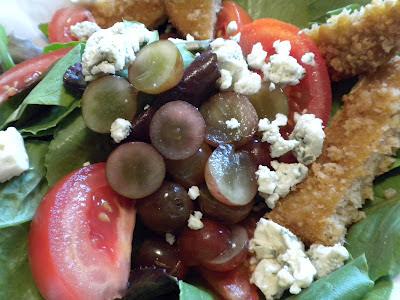 MorningStar Farms Chik'n Patty Salad