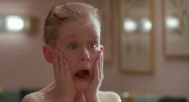 Macaulay Culkin (Kevin Mac Alistair) dans Maman, j'ai raté l'avion, de Chris Columbus (1990) référence Xavier Dolan Mommy
