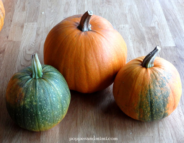 Don't roast pumpkins that have even a little bit of green.  Save them for decorations.