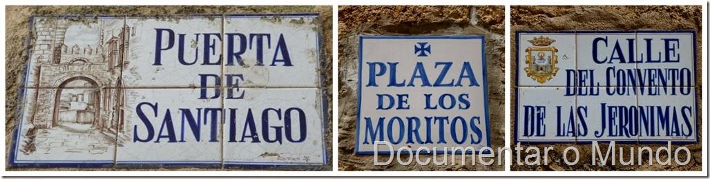 Ruas em Trujillo