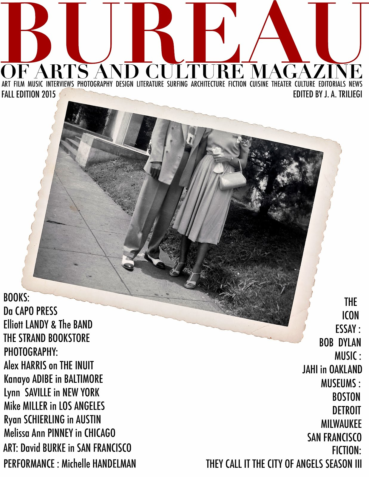 TAP+DOWNLOAD FALL 2015 BUREAU ARTS MAGAZINE
