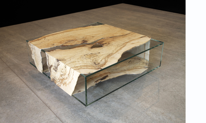Inspiring Coffee Table Glass And Wood Modern Wood And Glass Coffee