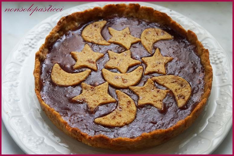 Non solo pasticci crostata di farro con marmellata bio - Cucinare sano e gustoso ...