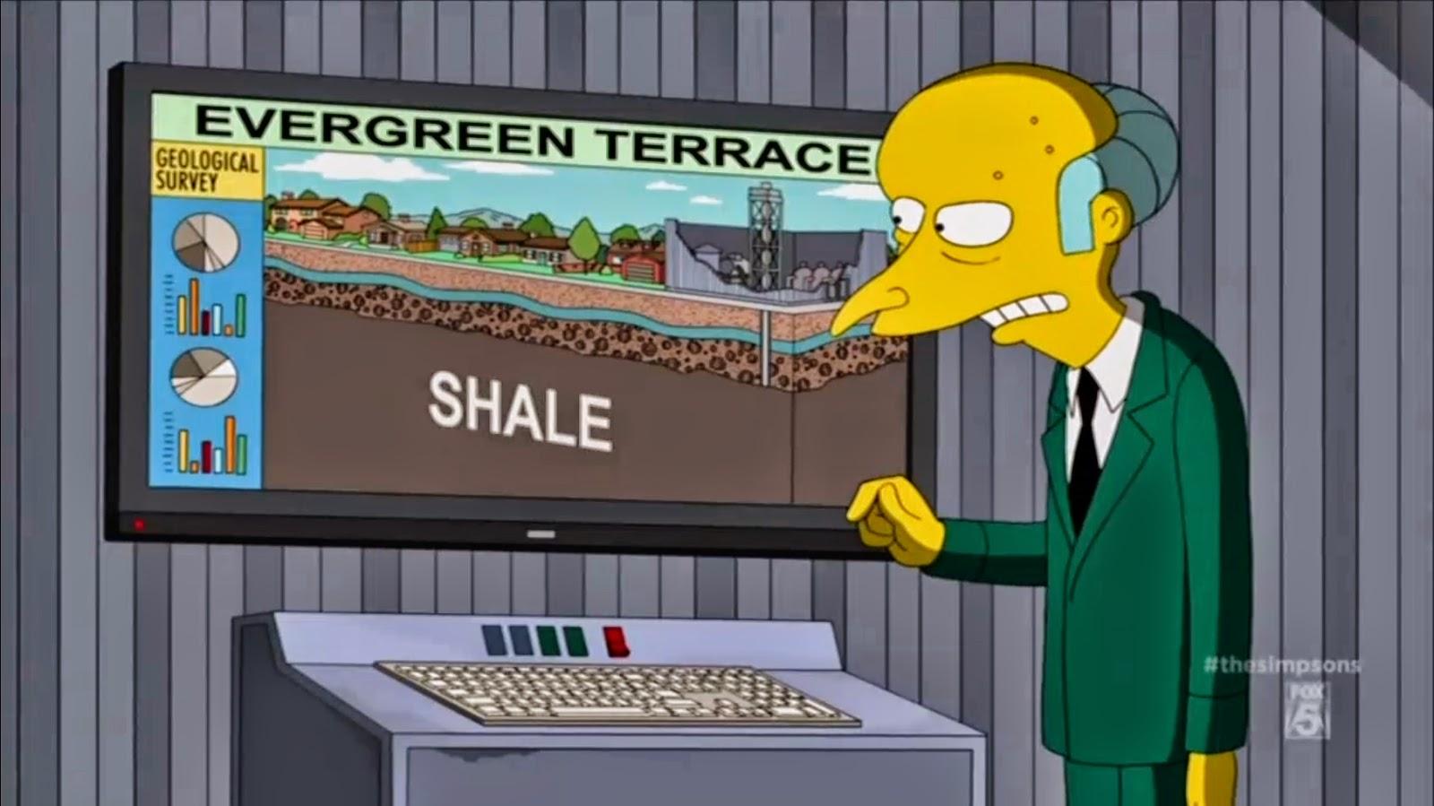 Los Simpson Se Burló De La Fractura Hidráulica Fracking En Su