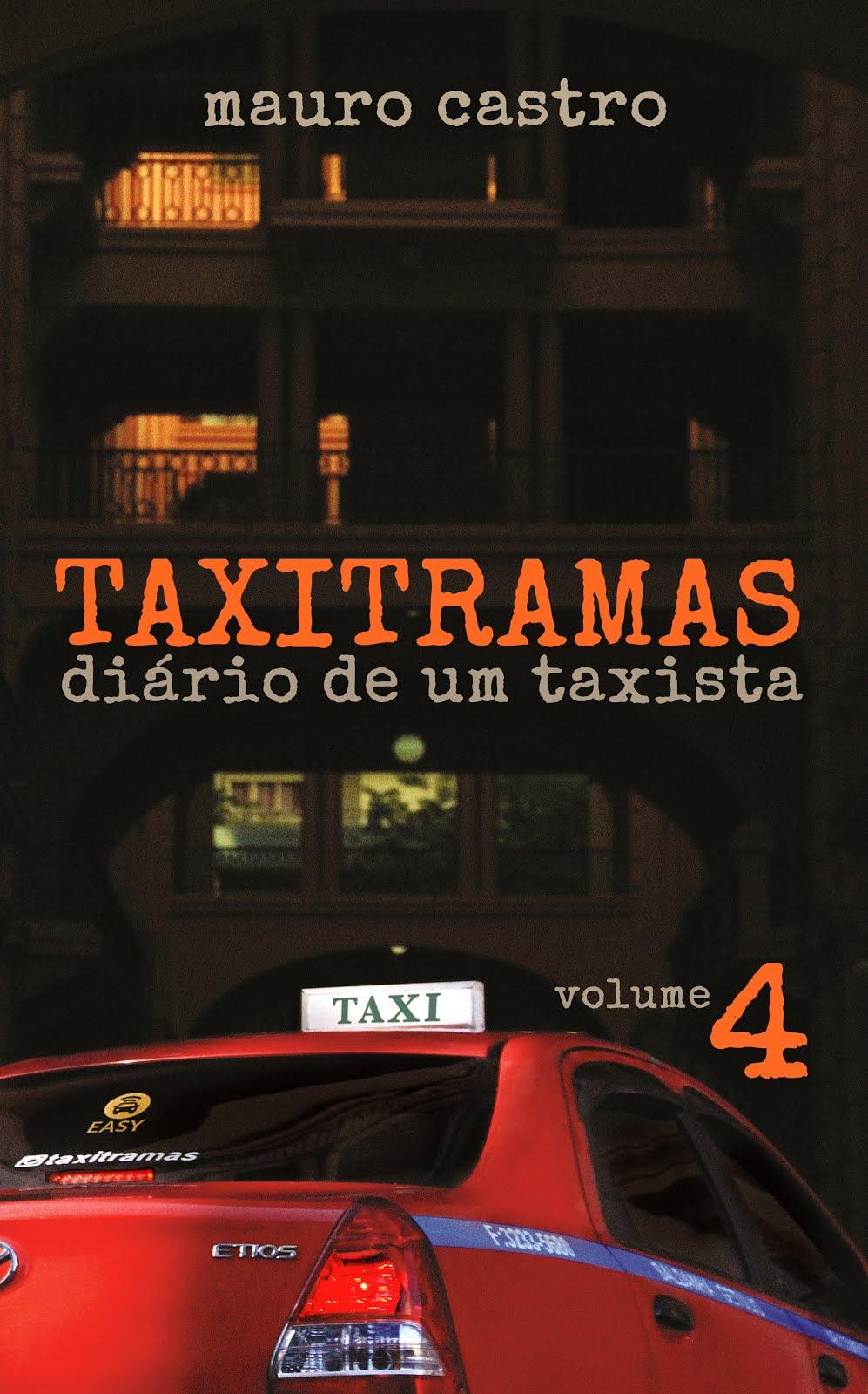 livro à venda no táxi