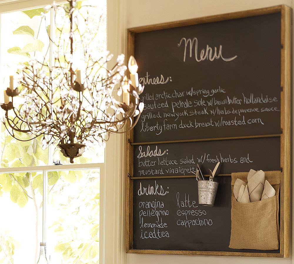 Pizarra en la cocina decoraci n whole kitchen - Pizarras de cocina ...