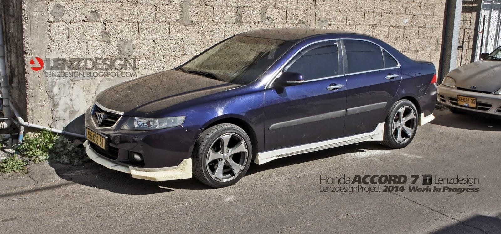 New Honda Accord >> Honda Accord 7 Tuning Lenzdesign Performance