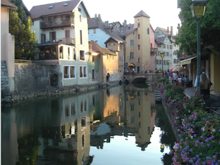 Annecy, France, old town. Most quaint and charming towns and villages to visit in Europe