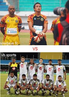 Prediksi VB Sports vs Sriwijaya FC