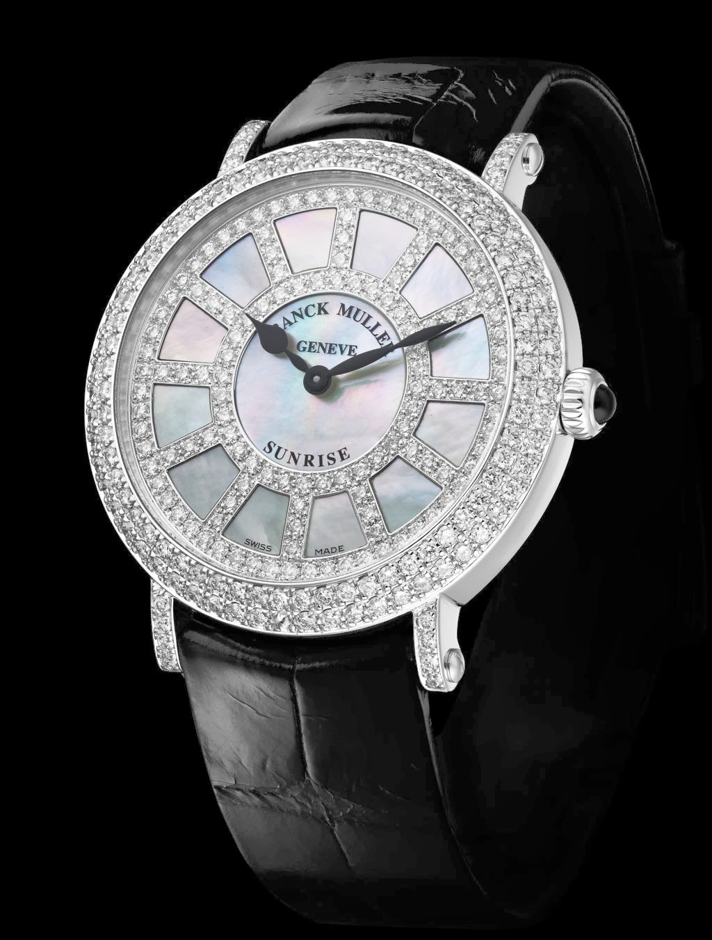 Franck Muller Sunrise Round replica watch
