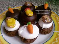 Sütemény recept - Húsvéti habos muffin