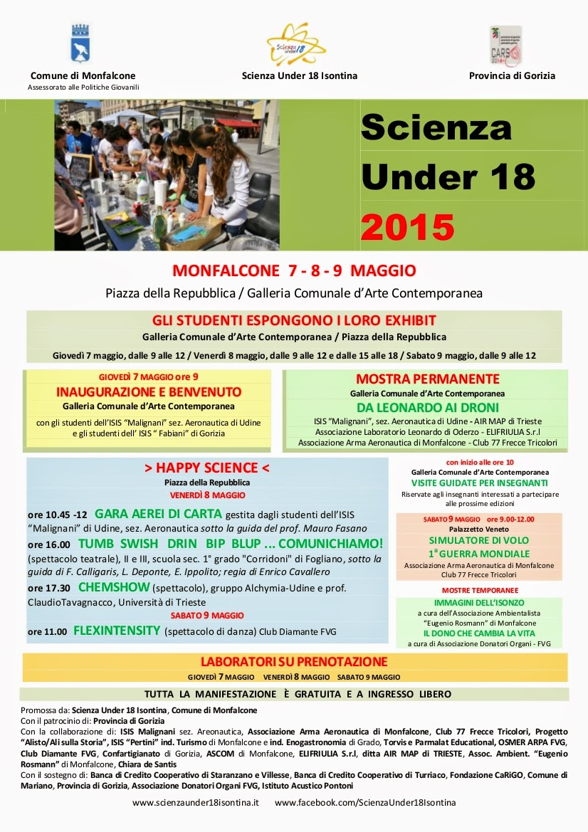 Scienza Under 18 Isontina 2015