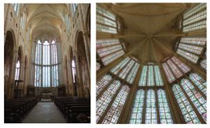 Restauration des 7 baies des vitraux de l'Abbaye de Saint-Martin-au-Bois