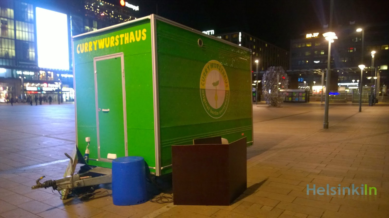 Currywursthaus at Kamppi