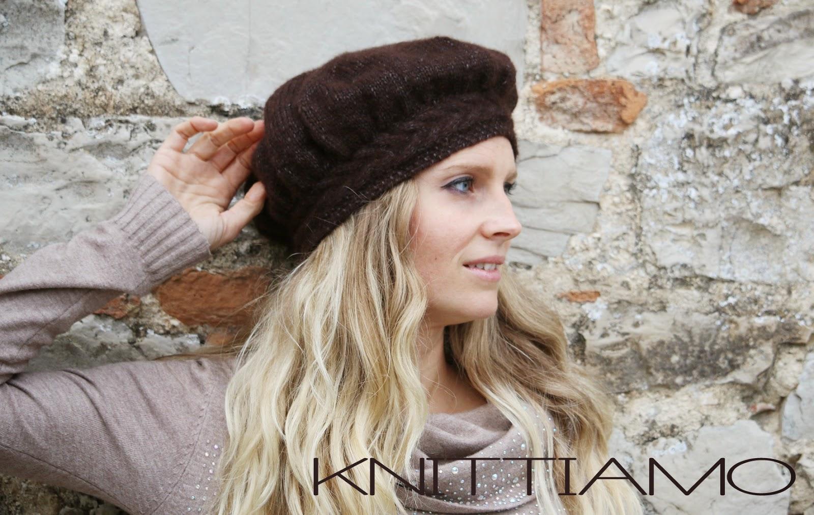 cappello a maglia tutorial e schema