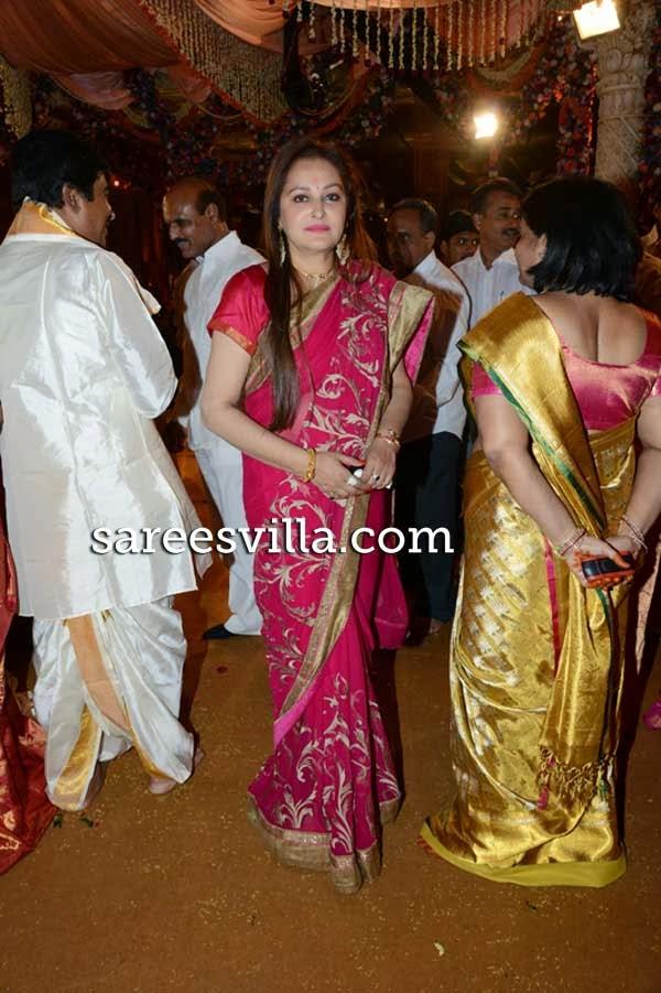 Jayaprabha at Kambhampati Rammohan's son Jairam wedding