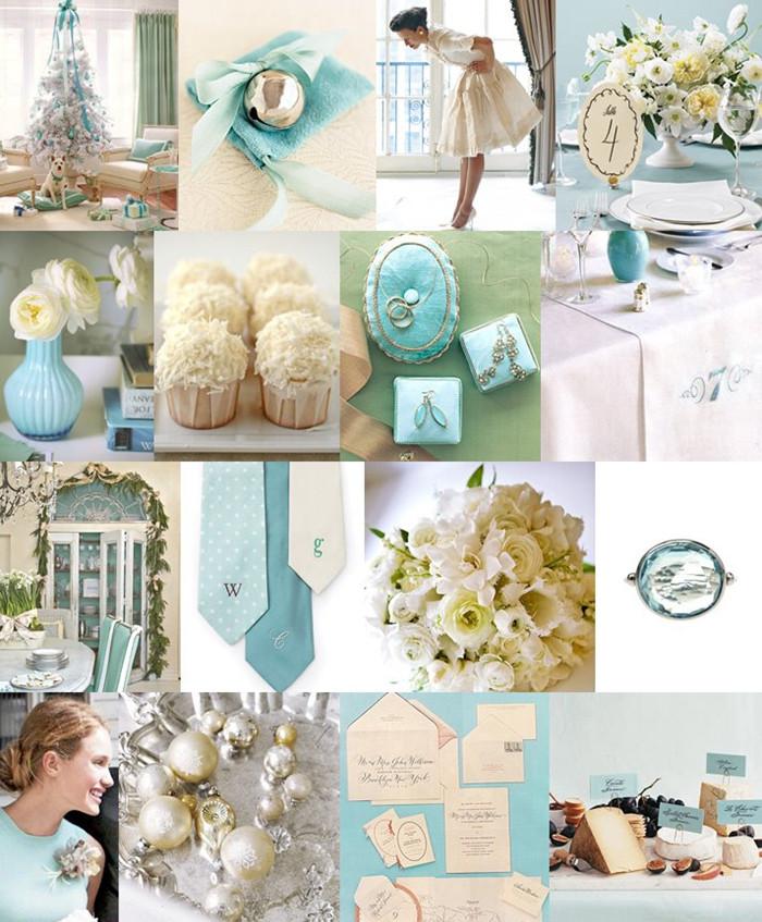 Anna Hall: Tiffany Blue Wedding Ideas