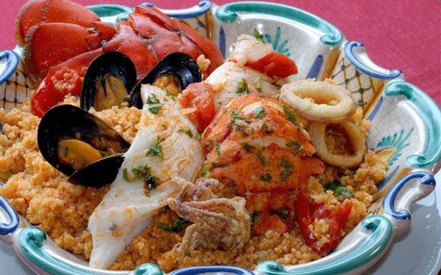 Découvrez la recette du Couscous de la mer