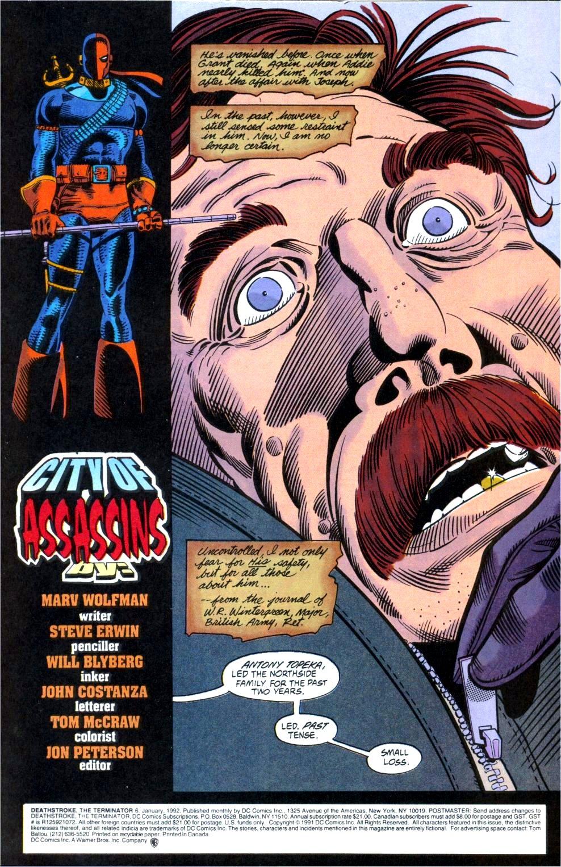 Deathstroke (1991) Issue #6 #11 - English 2