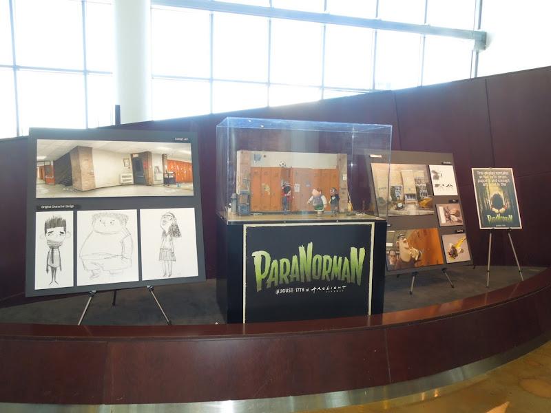 ParaNorman movie model exhibit