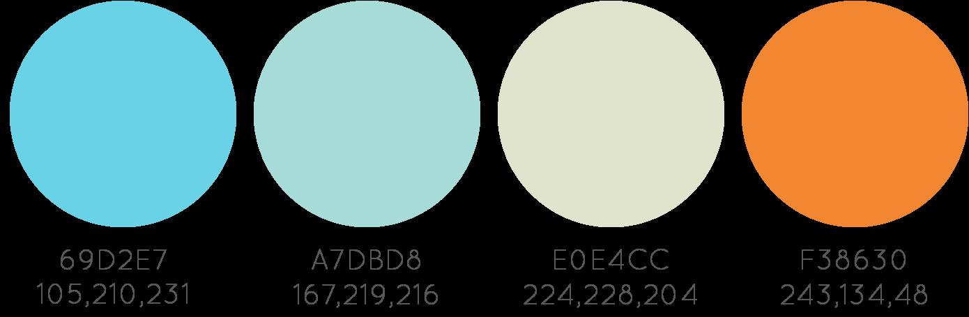 Creative mindly paletas de colores para blogs y dise os - Paleta colores pared ...